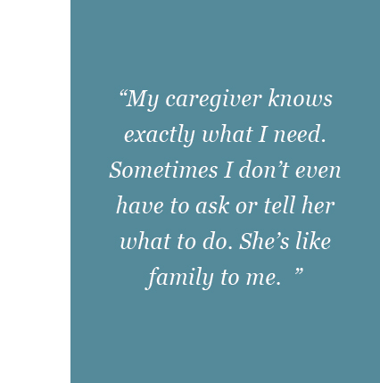 Home Care Testimonial in Burlington, NC